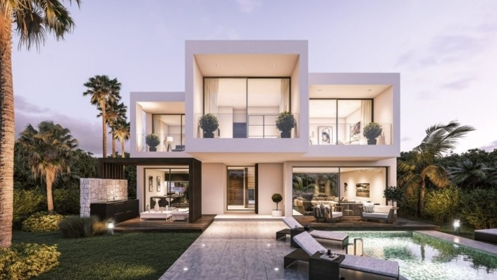 modern-villas-3d ossature metallique